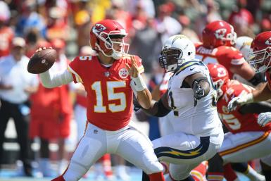 Patrick Mahomes Chiefs Chargers
