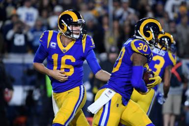 Jared Goff Todd Gurley Rams