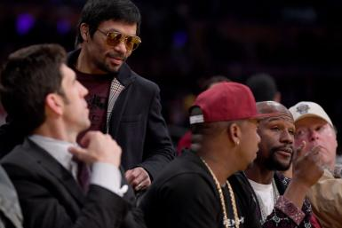 Manny Pacquiao and Floyd Mayweather Jr.