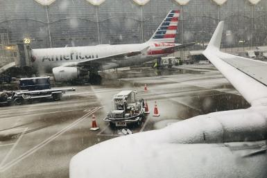 Winter Storm Petra delays flights