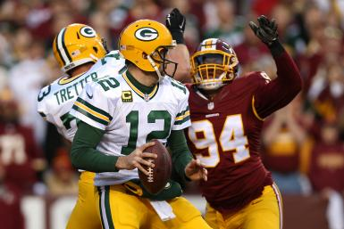 Preston Smith Packers Redskins
