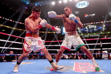 Errol Spence Jr. and Mikey Garcia