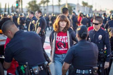 Arrested for wanting a decent minimum wage