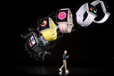 Apple Watch stage