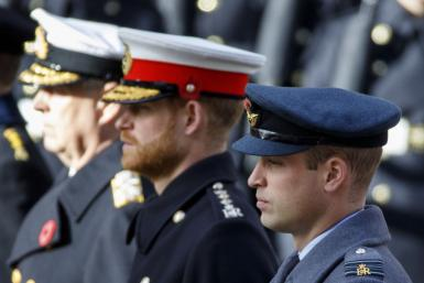 Prince Harry, William