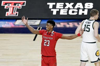 Jarrett Culver #23 of the Texas Tech