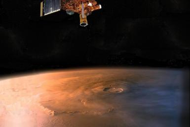 Mars Global Surveyor Artist Concept