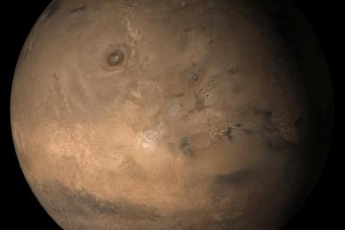 Mars at Ls 357°: Tharsis