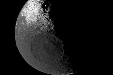 moon with two dark sides
