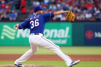 Mike Minor Texas Rangers