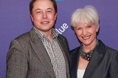 Elon musk and mother