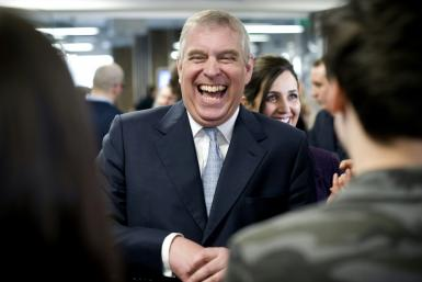 Britain's Prince Andrew