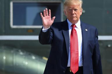 US President Donald Trump has called for China's President Xi Jinping to negotiate with the protesters