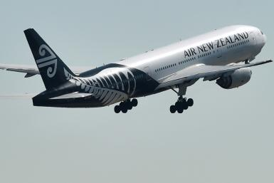 Air New Zealand announced a 31 percent fall in annual net profit