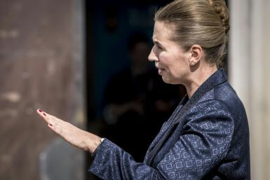 """Denmark's Prime Minister Mette Frederiksen said: """"I am both annoyed and surprised that the US president has cancelled a state visit"""""""