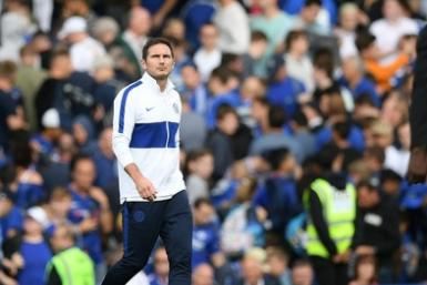 Frank Lampard is still waiting for his first win as Chelsea manager
