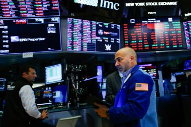 Traders were seeing red Friday at the New York Stock Exchange as the latest escalations in the US-China trade sent stocks sharply lower