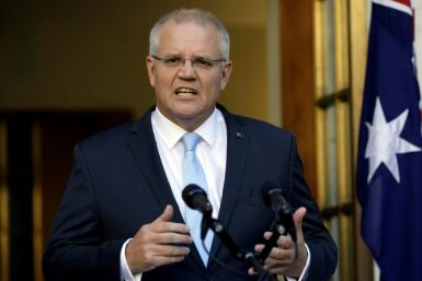 Australia's Prime Minister Scott Morrison says measures are needed to stop the spread of extreme content online