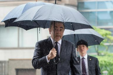 Ghosn was kept behind bars for over 100 days before being granted bail and sacked from all his management roles