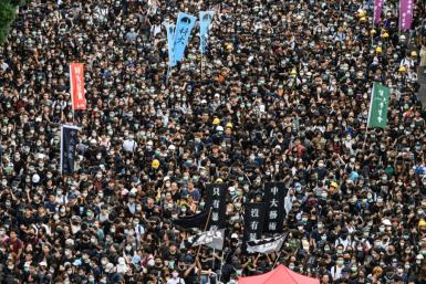 Pro-democracy protests have seen millions of people take to the streets for nearly three months
