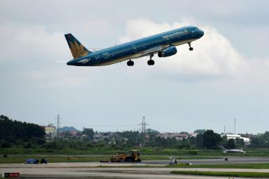 Flying high: Vietnam Airlines is the first Vietnamese carrier to secure a license for direct flights to the US