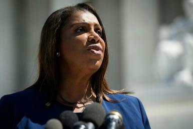 New York state Attorney General Letitia James unveiled a multistate antitrust investigation of Facebook