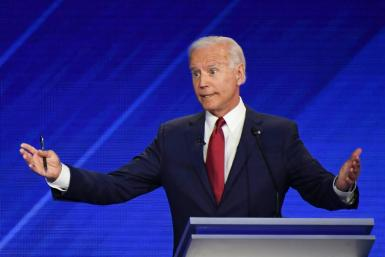 Joe Biden is battling accusations that he is a gaffe-prone candidate past his prime who could struggle during a gruelling White House campaign