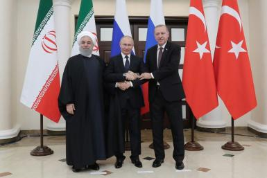 Iran and Russia have been staunch supporters of Syrian President Bashar al-Assad, while Turkey has called for his ouster and backed opposition fighters