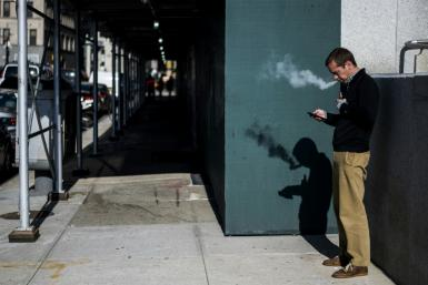 Most European countries subject e-cigarettes to the same restrictions as tobacco -- banning their use in closed public spaces, banning outdoor advertising of vaping shops, and restricting sales to over-18s
