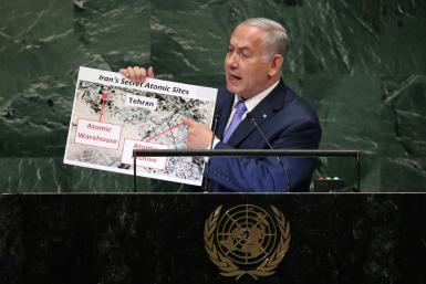 Netanyahu has repeatedly used speeches at the UN General Assembly to criticise Israel's arch-enemy Iran