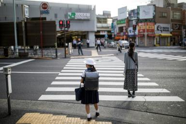 School uniforms in Japan are often sold through a handful of specific vendors designated by schools