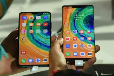 "Huawei's ""Mate 30 Pro"", the latest smartphone by the Chinese tech giant Huawei, is the first void of Google apps because of US sanctions"