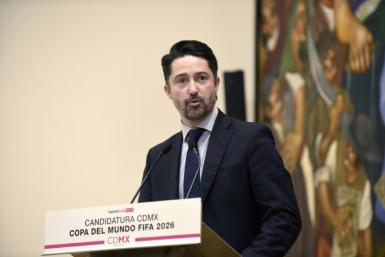 """FMF president Yon de Luisa, pictured in January 2018, said that homophobic slurs often heard at matches would """"endanger our chance to participate"""" in the federation"""