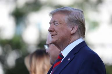 US President Donald Trump denied any wrongdoing occurred during an allegedly 'dicey' call to unidentified foreign leader