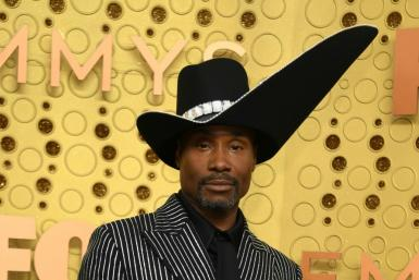 "US actor Billy Porter (""Pose"") slayed the red carpet once again, this time at the 71st Emmys"