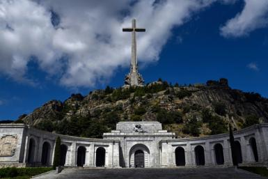 Franco is buried inside a grandiose basilica at the Valley of Fallen, which also holds the remains of 33,000 dead from both sides of the civil war