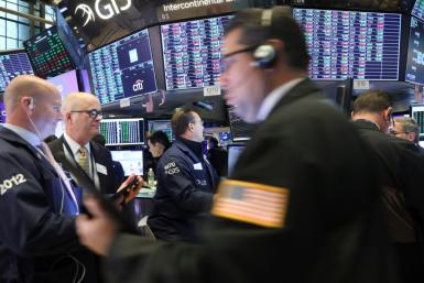 Traders work of the floor of the New York Stock Exchange (NYSE) on September 30, 2019 in New York City