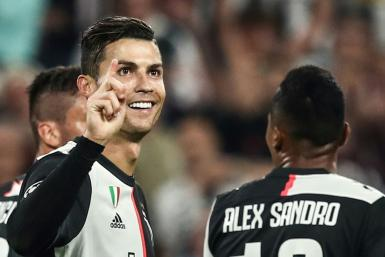 There was another landmark for Cristiano Ronaldo as he scored for Juventus in their 3-0 defeat of Bayer Leverkusen