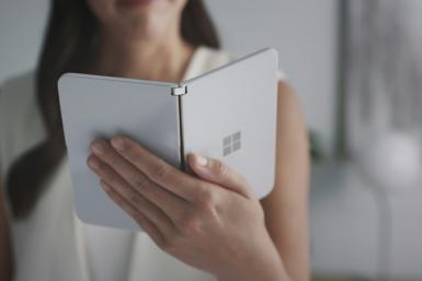 Microsoft will get back into the smartphone market with a new kind of folding device call Surface Duo, which will be launched next year and will be compatible with Android apps from tech rival Google's mobile operating system