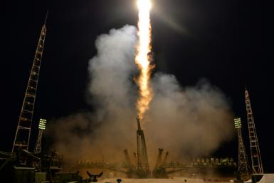 The Soyuz rocket blasted off to the ISS in September