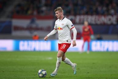 Timo Werner has scored 10 goals in 27 appearances for Germany