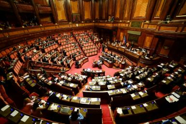 Italy currently has the second highest number of lawmakers in the EU after Britain