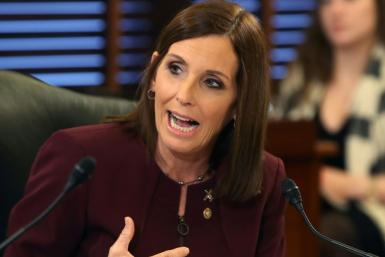 Republican Senator Martha McSally, an Air Force veteran of Middle East conflicts, called President Donald Trump's policy toward the Kurds 'just plain wrong'