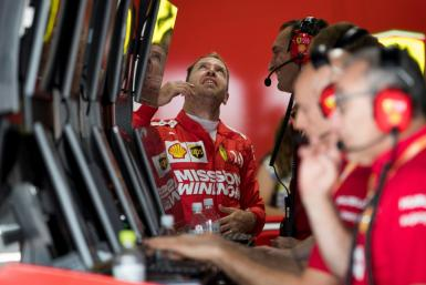 Ferrari driver Sebastian Vettel backed the cancellation of Saturday's programme
