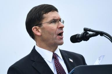 US Secretary of Defense Mark Esper announced the Pentagon is sending 3,000 more troops and two fighter squadrons to support Saudi Arabiqa's defenses against Iran
