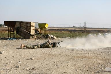 """Fighting has engulfed northern Syria since Wednesday when Ankara launched a long-threatened offensive against the Kurdish-led Syrian Democratic Forces (SDF), which it considers """"terrorists"""" linked to insurgents in Turkey"""