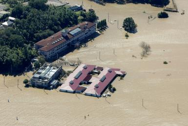 Typhoon Hagibis brought heavy rains to Japan that caused devastating flooding in several parts of the country