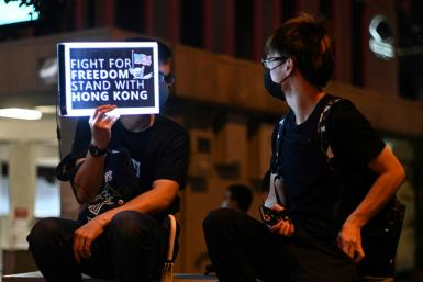 """China expressed """"strong indignation"""" over the passing of the Hong Kong Human Rights and Democracy Act by the US House of Representatives"""