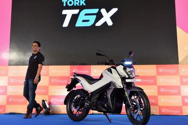 Tork Motors Electric Motorcycle