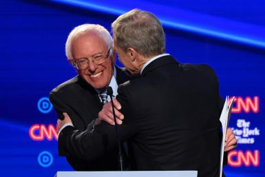 After suffering a mild heart attack, Senator Bernie Sanders sought to assuage concerns about his health during the fourth Democratic presidential debate of the 2020 cycle